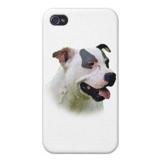 Staffordshire bull terrier iPhone 4/4S carcasas