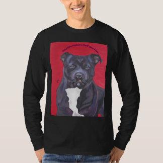 Staffordshire Bull Terrier long-sleeved tee