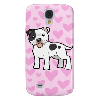 Staffordshire Bull Terrier Love (add your pern) Galaxy S4 Cover