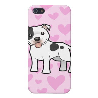 Staffordshire Bull Terrier Love (add your pern) iPhone SE/5/5s Cover