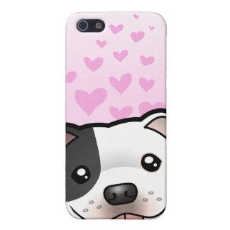 Staffordshire Bull Terrier Love Case For iPhone SE/5/5s