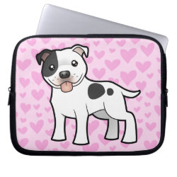 Staffordshire Bull Terrier Love Computer Sleeve