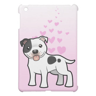 Staffordshire Bull Terrier Love iPad Mini Covers