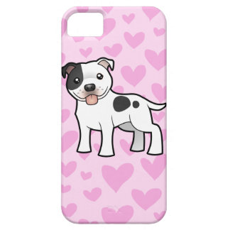 Staffordshire Bull Terrier Love iPhone SE/5/5s Case