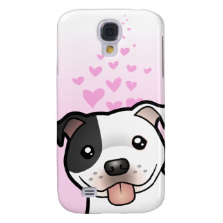 Staffordshire Bull Terrier Love Samsung Galaxy S4 Case