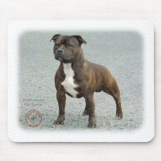 Staffordshire Bull Terrier Mouse Pad