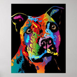 Staffordshire bull terrier impresiones