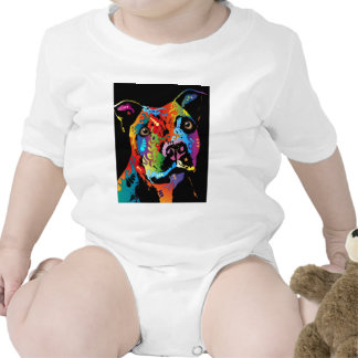Staffordshire bull terrier trajes de bebé