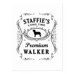 Staffordshire bull terrier postales