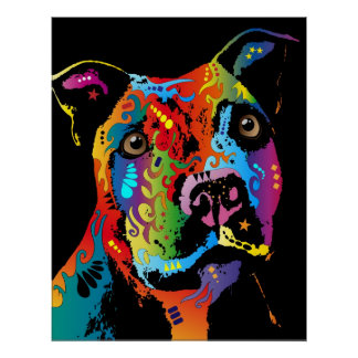 Bull Terrier Art Framed Artwork Zazzle - Bull terrier art