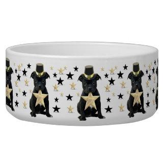 Staffordshire bull terrier puppy dog bowl