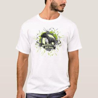 Staffordshire Bull Terrier SPLASH green T-Shirt
