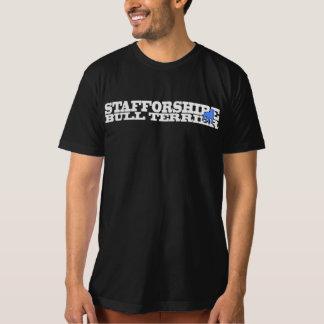 Staffordshire Bull Terrier - T-Shirt cream/lt blue