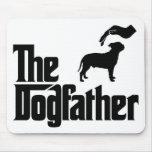 Staffordshire bull terrier tapete de raton
