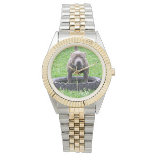Staffordshire_Bull_Terrier_Unisex_Two_Toned_Watch Watch