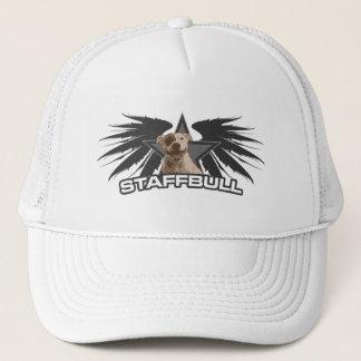 Staffordshire Bullterrier - Staffbull Wings Trucker Hat