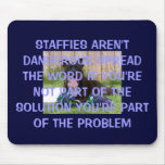 STAFFORDSHIRE BULLTERRIES MOUSE PAD