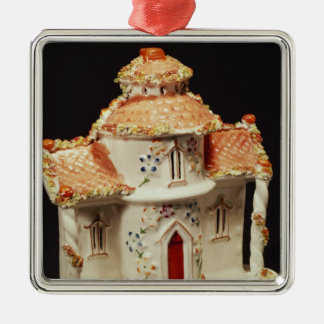 Staffordshire cottage, c. 1860 metal ornament