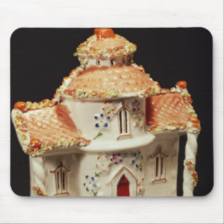 Staffordshire cottage, c. 1860 mouse pad
