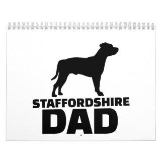 Staffordshire Dad Calendar