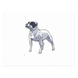 STAFFORDSHIRE DOG POST CARDS