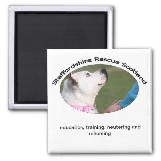 Staffordshire Rescue Scotland Magnet