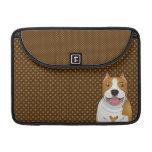 Staffordshire Terrier americano (Amstaff) Funda Para Macbook Pro