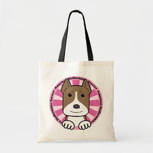 Staffordshire Terrier americano Bolsas De Mano
