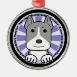 Staffordshire Terrier americano Ornamentos De Reyes Magos