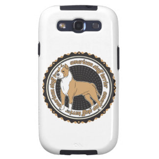 Staffordshire Terrier americano Galaxy S3 Protector