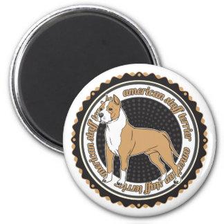 Staffordshire Terrier americano Iman De Frigorífico