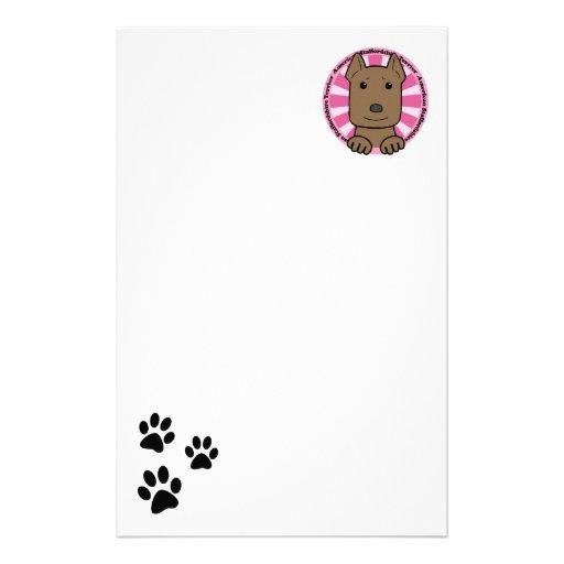 Staffordshire Terrier americano Papeleria Personalizada