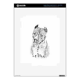 Staffordshire Terrier americano Pegatinas Skins Para iPad 3