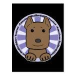 Staffordshire Terrier americano Postales