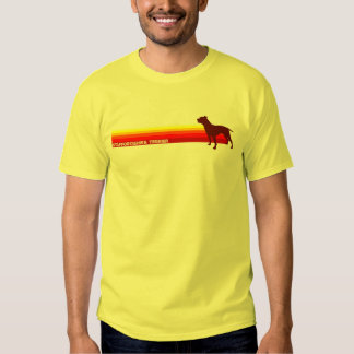 Staffordshire Terrier With Stripes T-Shirt