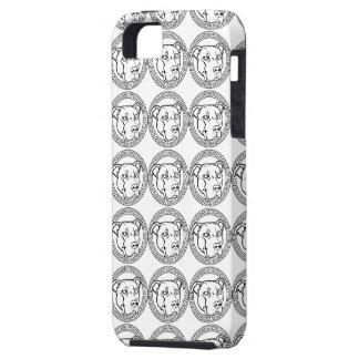 Staffordshire y caja del teléfono de Terrier - iPhone 5 Cárcasa