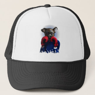 Staffy Dog Boxer Fun Animal Trucker Hat