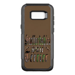 OtterBox Commuter Samsung Galaxy S8+ Case with Bull Terrier Phone Cases design