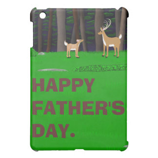 Stag and Fawn iPad Case