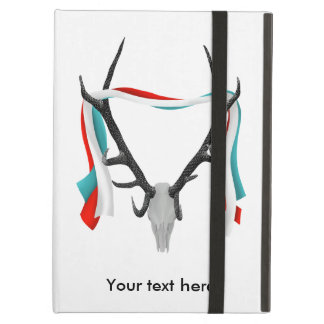 Stag Antlers Illustration Cover For iPad Air