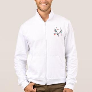 Stag Antlers Illustration Jacket
