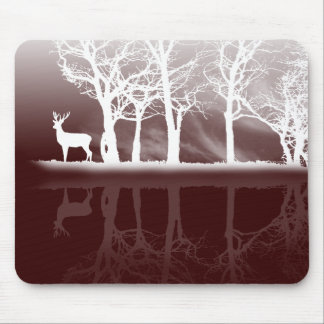 Stag At Dusk Mousepad