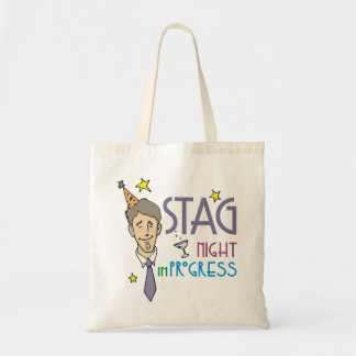 Stag Bachelor Party Canvas Bag
