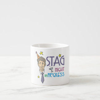 Stag Bachelor Party Espresso Cup