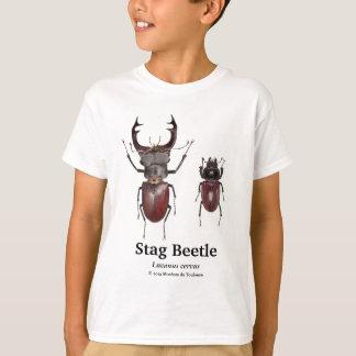 Stag Beetle and Lucanus cervus T-Shirt