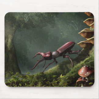Stag Beetle Mousepad