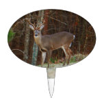 Stag / Buck  Deer Oak Camouflage Cake Toppers