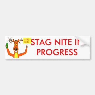 Stag Bumper Sticker