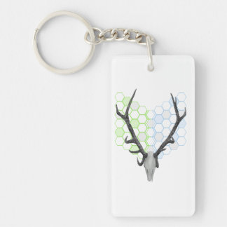 Stag Deer Trophy Antlers Keychain