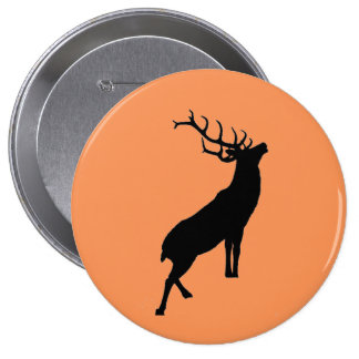"""""""Stag"""" design stag night badges Pinback Button"""